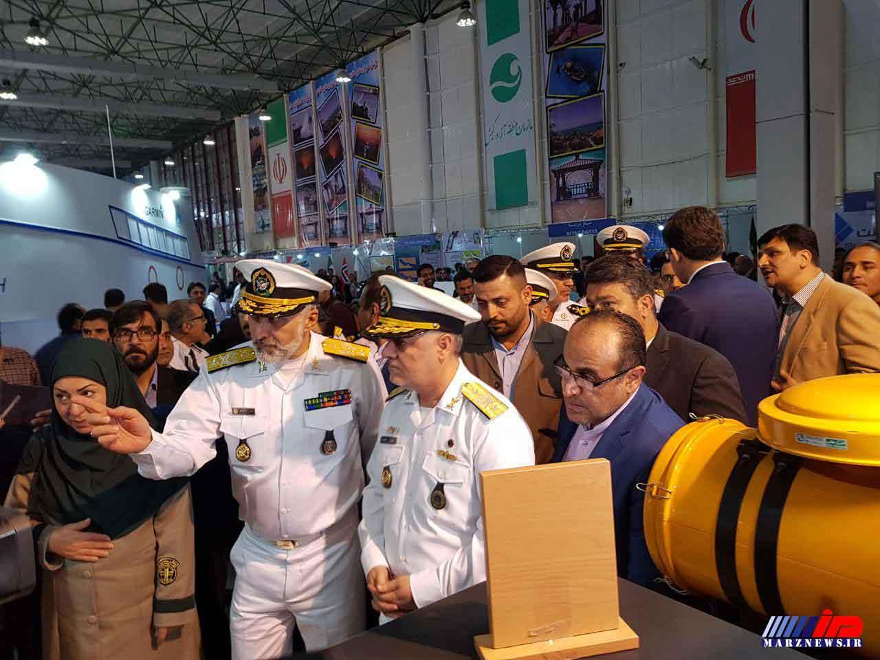 نوزدهمین نمایشگاه بین المللی صنایع دریایی و دریانوردی در کیش