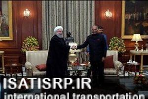 دستاوردهای سفر رییسجمهور به هند در حوزه حملونقل دریایی